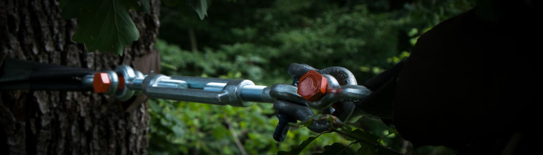 Sicherung am Baum